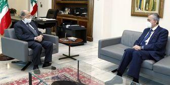 دیدار سفیر سوریه با رئیس جمهور لبنان