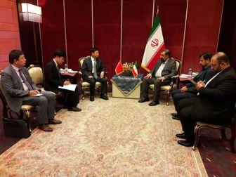 دیدار مجدد دبیر مجمع تشخیص مصلحت نظام با وزیر بین الملل حاکم چین