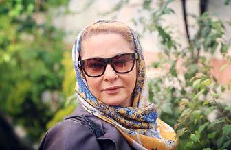 «لاله صبوری» درکنار مأموران نیروی انتظامی/ عکس