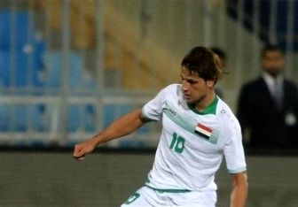 کری خوانی ملی پوش عراقی برای تیمهای حاضر در جام ملتها