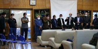 جلسه معارفه سرمربی جدید نفت مسجدسلیمان برگزار شد