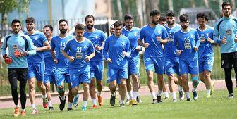 غیبت 4 بازیکن در تمرین امروز استقلال