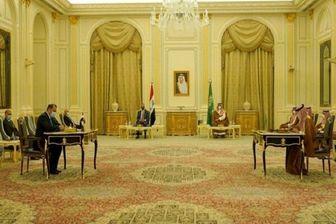 امضای ۵ توافقنامه مشترک در سفر الکاظمی به عربستان
