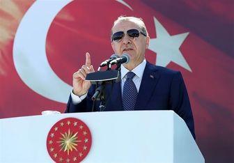 هشدار اردوغان درباره نابودسازی گروههای تروریستی در شرق فرات