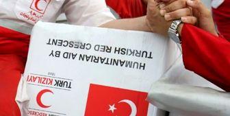 کمکهای هلال احمر «ترکیه» به آق قلا رسید