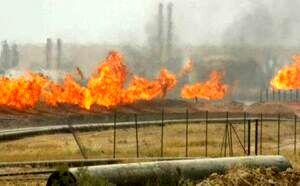 انفجار در خط لوله انتقال نفت از عراق به ترکیه