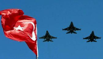 حمله جنگنده های ترکیه به مناطق کوهستانی شمال عراق