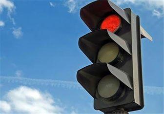 چراغ راهنمایی با ۴ رنگ/ عکس