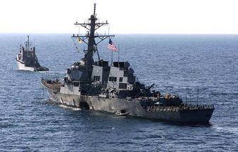 رزمایش دریایی آمریکا با یونان در دریای مدیترانه