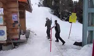 بی عرضهترین اسکی باز جهان + فیلم