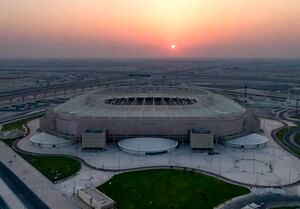 دو بازیکن ایرانی در افتتاح رسمی ورزشگاه جام جهانی