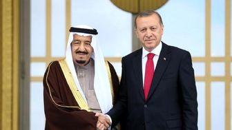 اردوغان از تلاش عربستان برای میزبانی گروه جی ۲۰ تشکر کرد