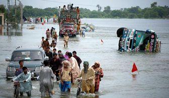 سیل در پاکستان  40 کشته بر جای گذاشت