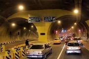 نحوه جدید تردد در بزرگراه صدر و تونل نیایش