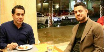 حضور مدافع تیم ملی در اردوی پرسپولیس+عکس