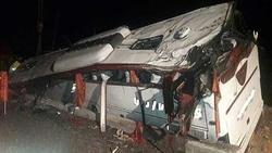سقوط اتوبوس 26 کشته و زخمی برجای گذاشت