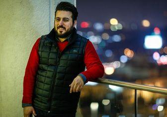 """""""محسن کیایی""""، بچه به بغل /عکس"""
