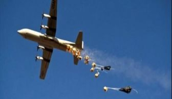 فرو ریختن سلاح و مهمات برای داعش
