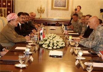 رایزنی بارزانی با رئیس ستاد ارتش آمریکا