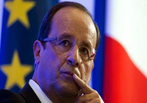 حمایت اولاند از حمله فرانسه به سوریه