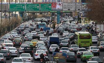 وضعیت ترافیکی امروز صبح سه شنبه ۲۴ دی ماه