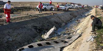 شناسایی 100 نفر از قربانیان سقوط هواپیما