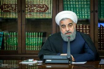 روحانی:جهت گیری دولت در اقتصاد مقاومتی با قدرت بیشتری ادامه می یابد