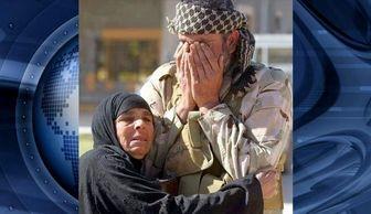 شادمانی مردم تکریت، از ورود فاتحان عراقی