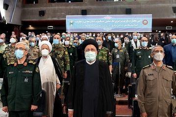 تجلیل از یک میلیون پیشکسوت دفاع مقدس/گزارش تصویری