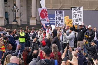 بازداشت ۱۰ مخالف قرنطینه در استرالیا