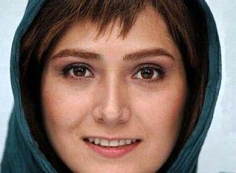 """درخواست """"باران کوثری"""" از روحانی برای رفع فیلتر تلگرام/ عکس"""