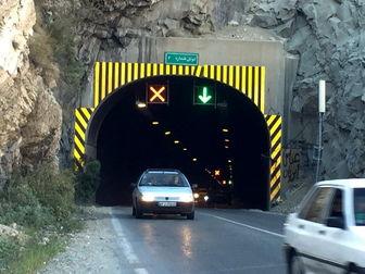 انجام عملیات ایمن سازی تونل شماره 5 محور کرج - چالوس
