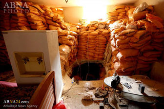 بزرگترین تونل تروریستها در دومای سوریه کشف شد