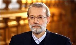لاریجانی: امروز رهبری خیلی خوب مسیر را روشن کردند