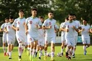 دیدار تدارکاتی تیمهای ملی فوتبال بزرگسالان و امید ایران