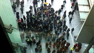 اعتصاب مجدد کارکنان بیبیسی در اعتراض به تعدیل نیرو