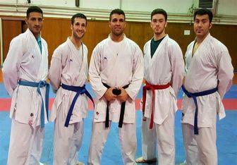 حریفان ایران در مسابقات کاراته مشخص شد