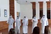 استقبال اماراتیها از هیئتهای صهیونیستی با رقص و آواز