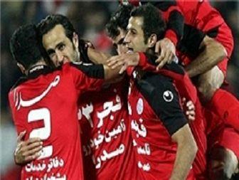 پیروزی پرسپولیس برابر الهلال در پایان نیمه اول