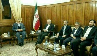 اعضای کمیسیون امنیت مجلس به دیدار ظریف رفتند