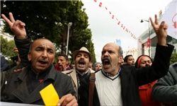 تظاهرات مردم تونس در محکومیت توطئه امارات