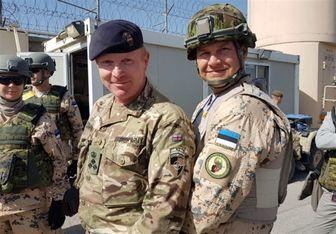نظامیان استونیا راهی افغانستان شدند