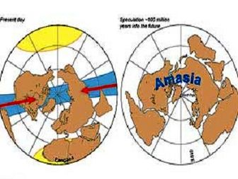 ابرقاره آماسیا تشکیل میشود