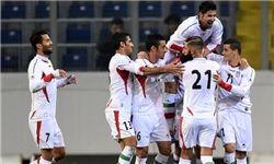 پیروزی ایران مقابل گوام در نیمه نخست