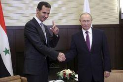 پیام تبریک «بشار اسد» به «پوتین»