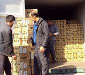 توقیف تریلری با ۵۰۰ میلیون ریال کالای قاچاق
