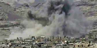 حمله توپخانهای ائتلاف سعودی به شهرستان محاصره شده «الدریهمی»