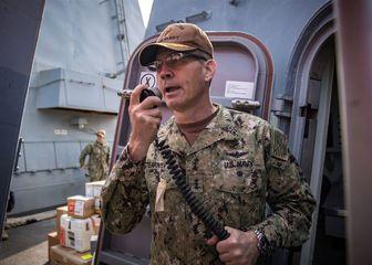 مرگ فرمانده ناوگان آمریکا در بحرین