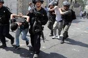 بازداشت گسترده فلسطینیان در کرانه باختری و بیت المقدس