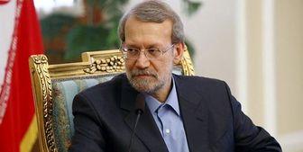 لاریجانی به عادل عبدالمهدی تبریک گفت